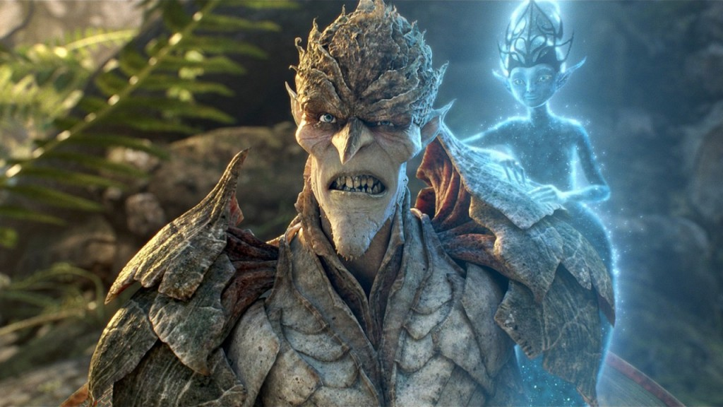 "Bog King (voice of Alan Cumming) is fiercely opposed to a powerful potion that's created by the Sugar Plum Fairy (voice of Kristin Chenoweth). ""Strange Magic,"" a madcap fairy tale musical inspired by ""A Midsummer Night's Dream,"" will be released by Touchstone Pictures on Jan. 23, 2015. (Strange Magic © & TM 2014 Lucasfilm Ltd. All Rights Reserved.)"